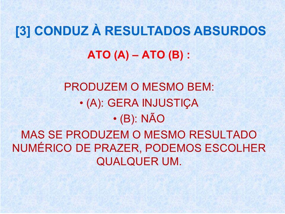 [3] CONDUZ À RESULTADOS ABSURDOS